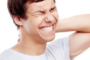 chronische Nackenschmerzen lindern